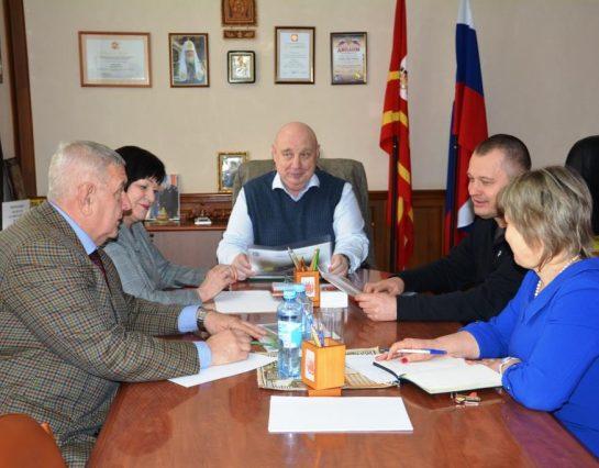 Встреча с трудовым коллективом ООО «Промконсервы» в г. Рудне